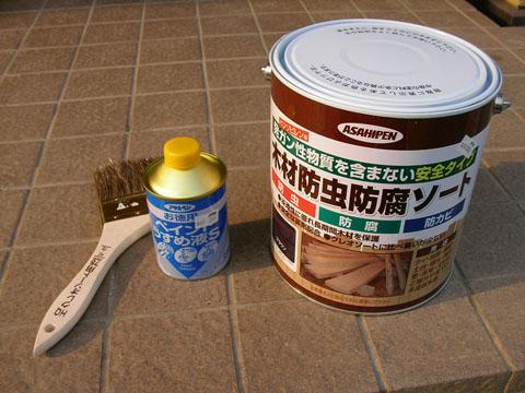 木材防虫防腐ソート