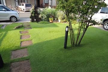 庭園灯をLEDに交換する