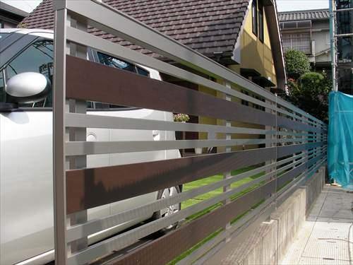 芝庭のフェンスは風通しの良いものが理想