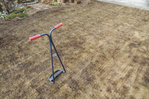 芝焼きとエアレーションをすると相乗効果が期待できる