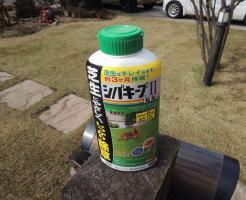 芝生用除草剤シバキープII粒剤