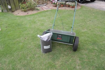 土壌改良剤と肥料散布機