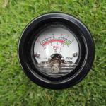 芝生のpHを計測